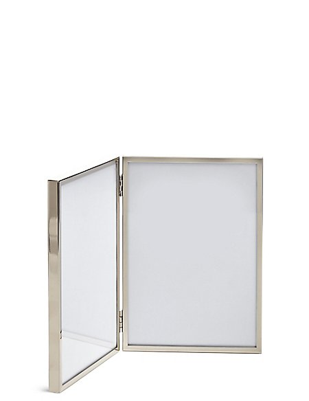 2 Aperture Metal Photo Frame 13 x 18cm (5 x 7inch)