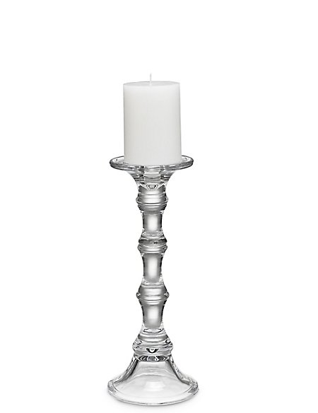 Medium Manor Pillar Candle Holder