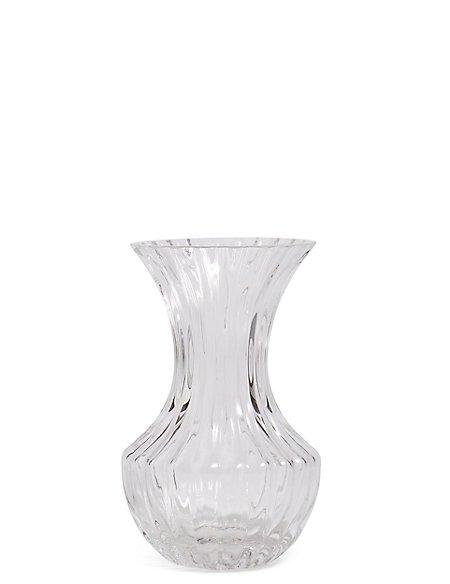 Small Ridged Vase