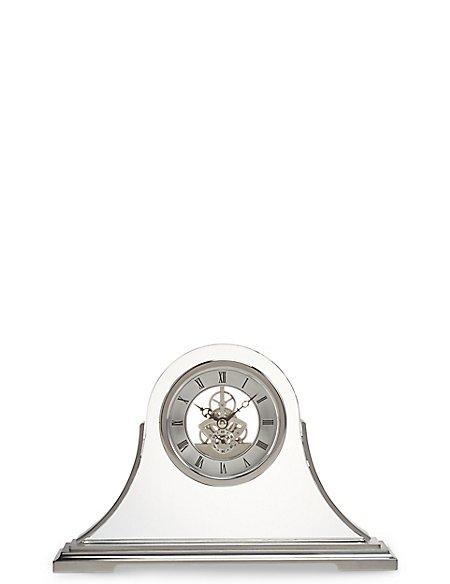 Napoleon Skeleton Mantle Clock