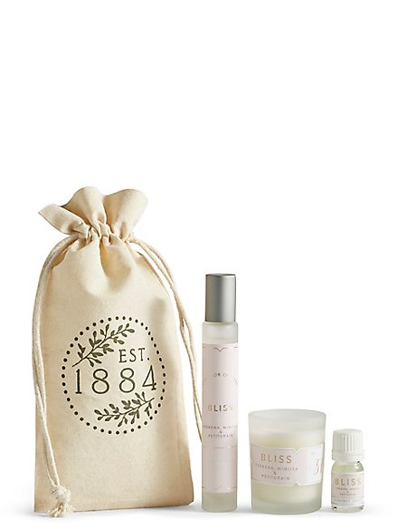 Bliss Travel Gift Set