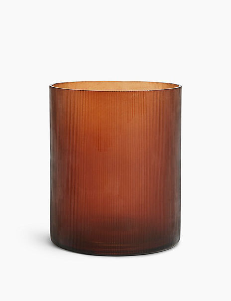 Linear Hurricane Candle Holder