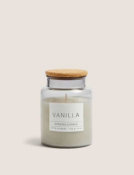Vanilla Large Jar Candle