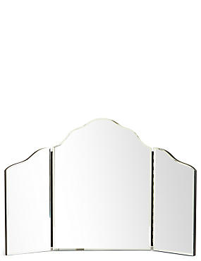 Bevelled Edge Dressing Table Mirror