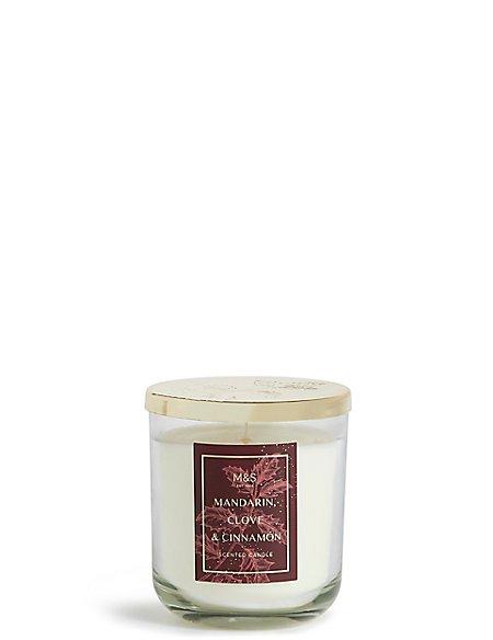 Mandarin, Cinnamon & Clove Lidded Candle