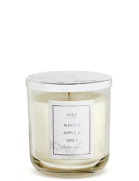 Winter Spiced Apple Lidded Candle