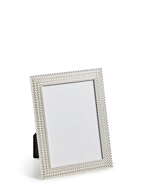 Aurora Silver Metal Photo Frame 12 x 17cm (5 x 7 inch)