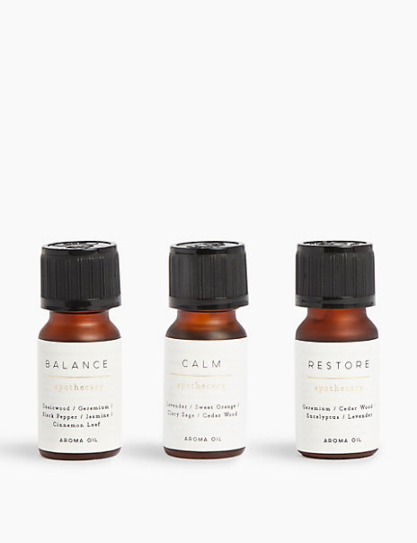 Set of 3 Aroma Refresher Oils