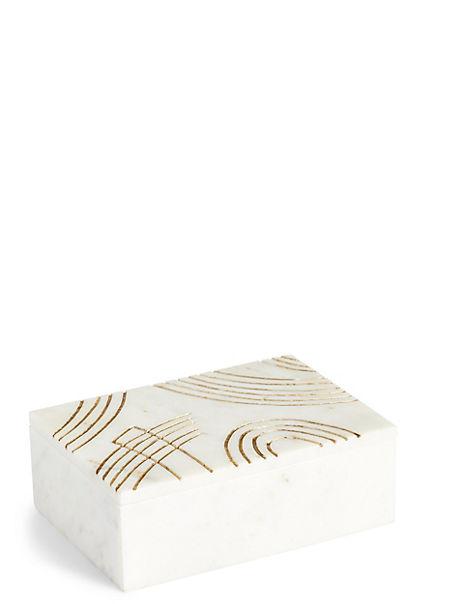 Marble Trinket Box