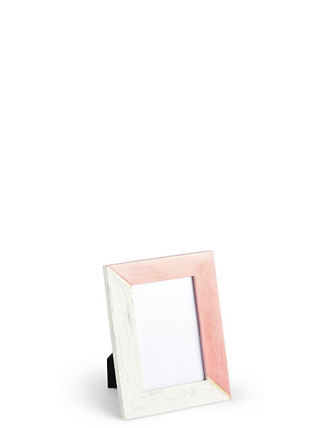 Marble Look Photo Frame 10 x 15cm (4 x 6 inch)