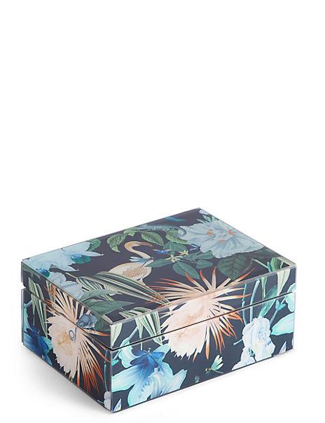 Amelie Print Trinket Box