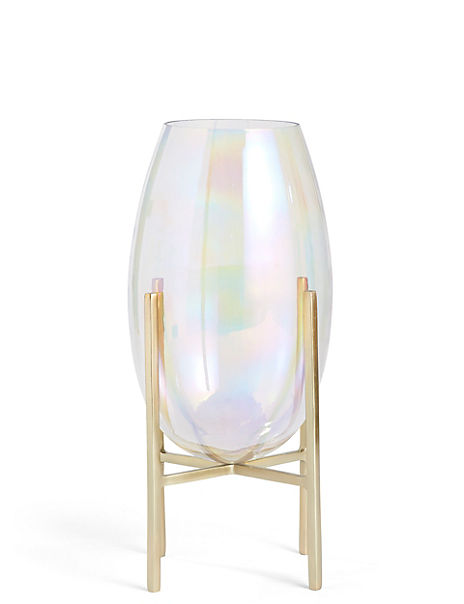 Lustre Footed Vase