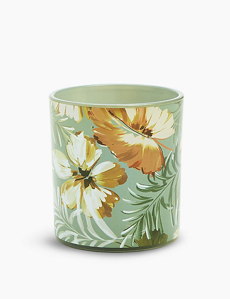 Maisie Floral Print Single Candle