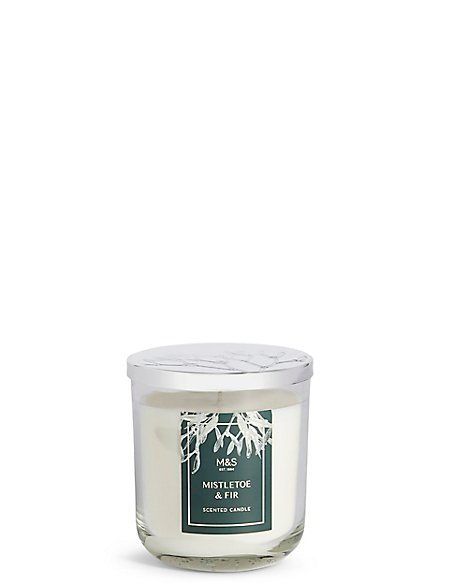 Mistletoe Fir Lidded Candle Ms