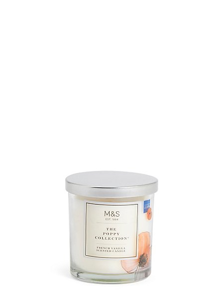The Poppy Collection® Poppy French Vanilla Scented Candle