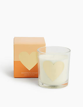 Alphabet Candle Heart