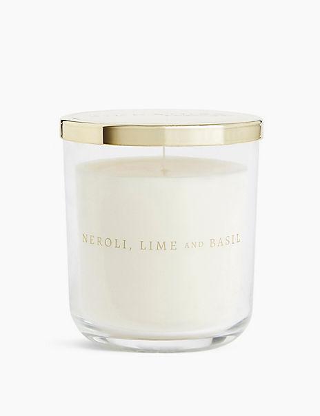 Neroli, Lime & Basil Lidded Candle
