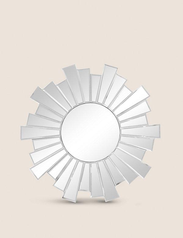 Sunburst Small Round Mirror