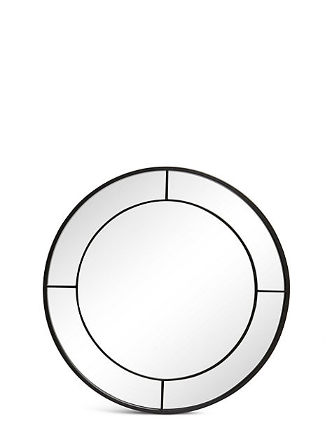 Round Window Mirror
