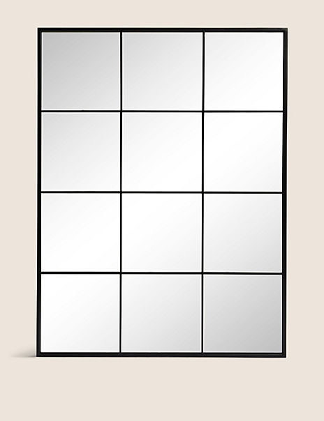 Simple Window Pane Mirror