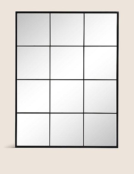 Simple Window Pane Mirror