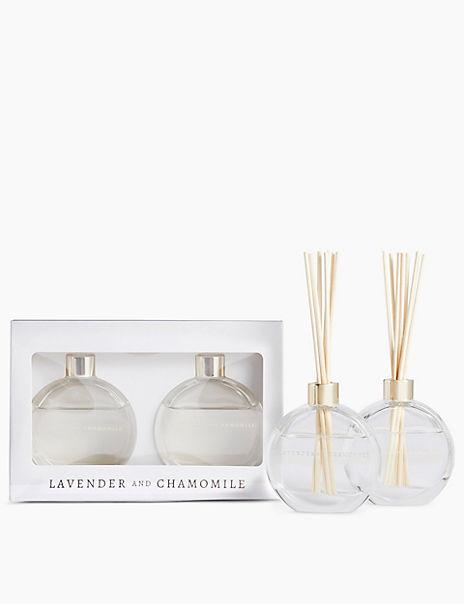 Lavender & Chamomile Twin Diffuser Set