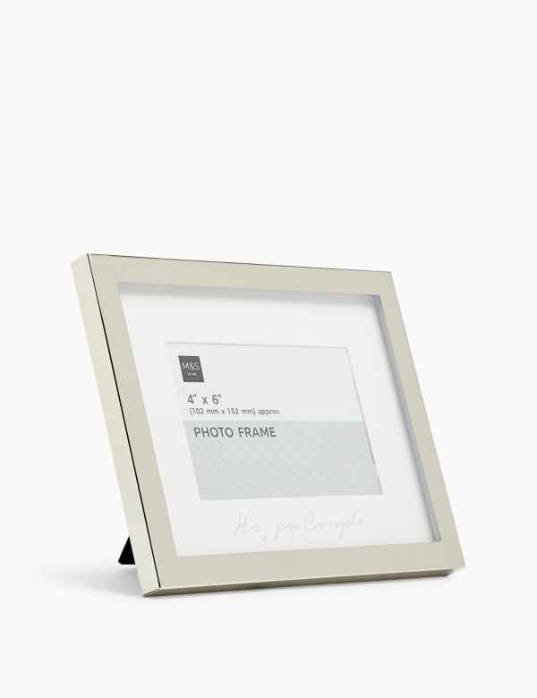 Grey Decorative Picture Frame Truu design 4 x 6 inches