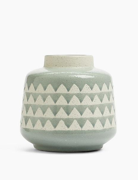Medium Geometric Vase
