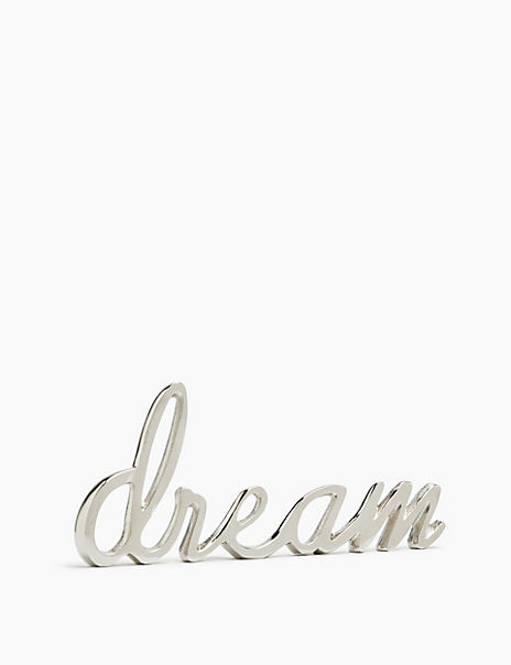 Dream Letters Ornament