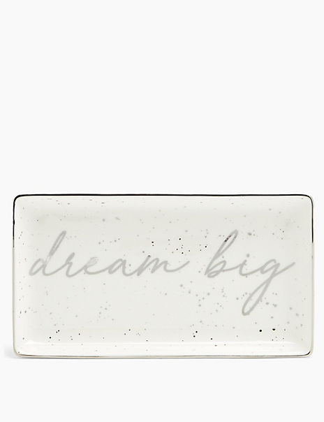 Large Dream Big Trinket Tray