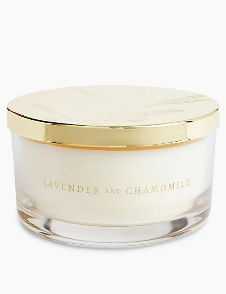 Lavender & Chamomile 3 Wick Candle