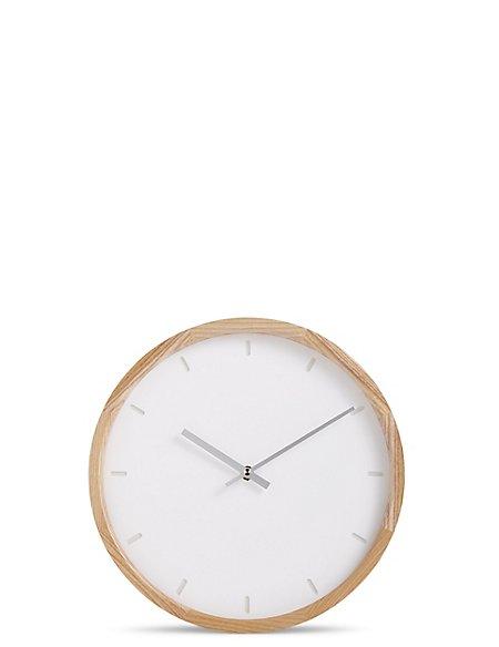 Wooden Edge Wall Clock