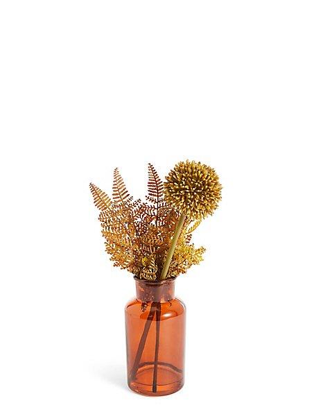 Allium & Fern Arrangement