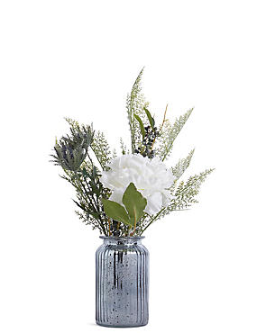 Large Frosted Peony Arrangement