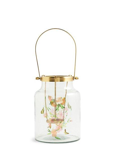 Large Decal Lantern