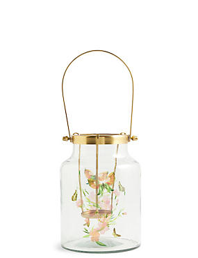 Large Decal Lantern