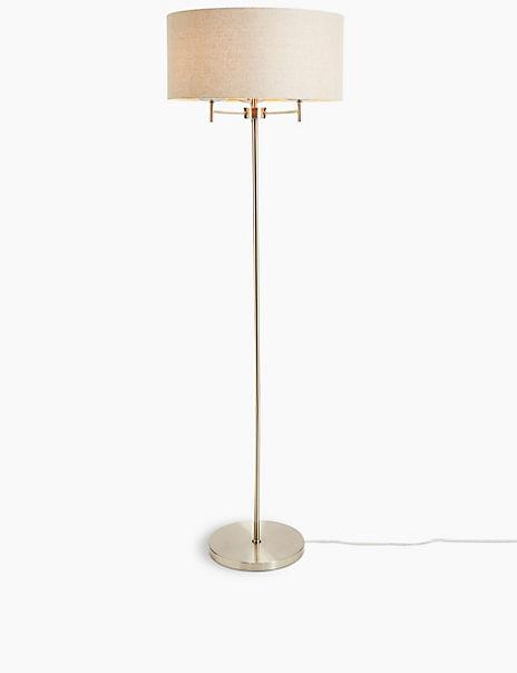 Fluer Drum Shade Floor Lamp