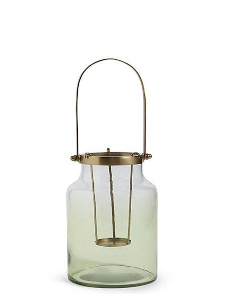 Large Ombre Lantern