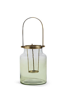 Large Ombre Lantern