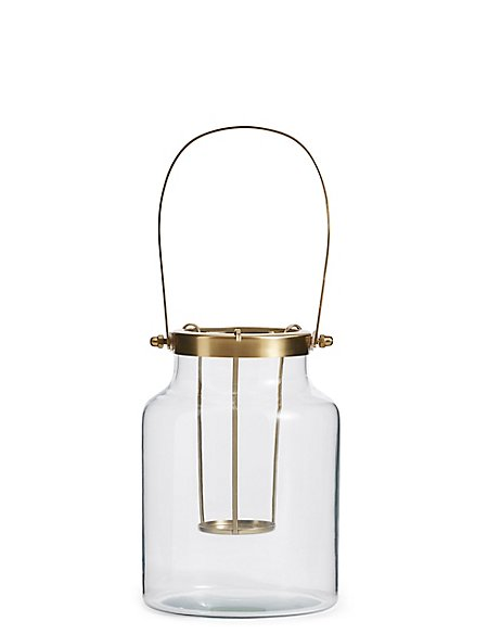 Large Clear Lantern