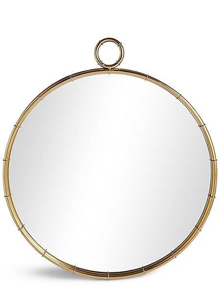 Piped Circular Mirror