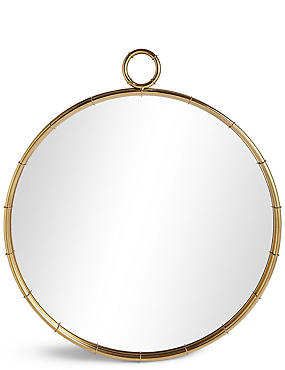 Piped Circular Mirror