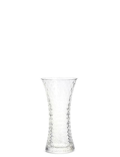 Medium Pressed Diamond Bud Vase