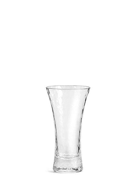 Small Pressed Diamond Bud Vase