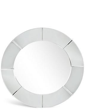 Panel Round Mirror