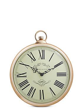 Classic Fob Wall Clock