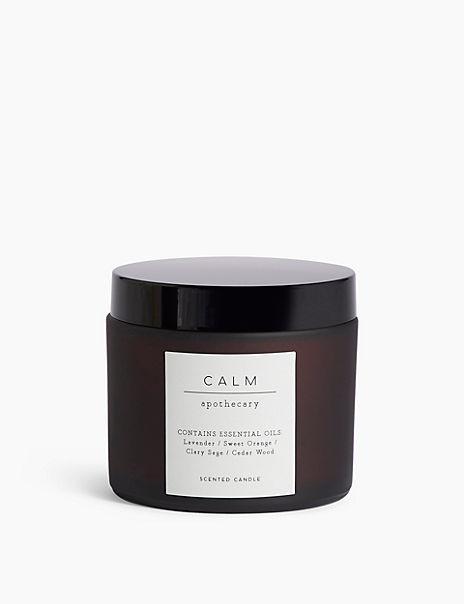 Calm Single Candle