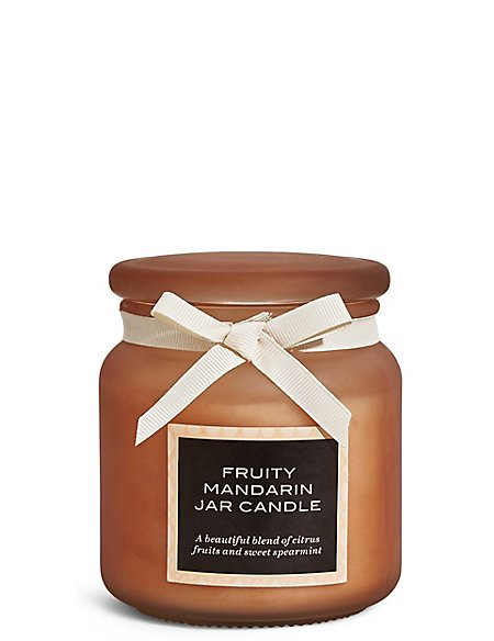 Fruity Mandarin Large Filled Candle