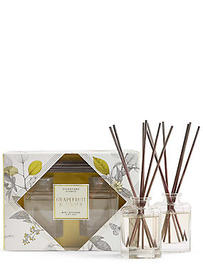 Grapefruit & Ginger Twin Diffuser