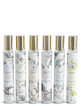Favourite Scents Set of 6 Room Sprays